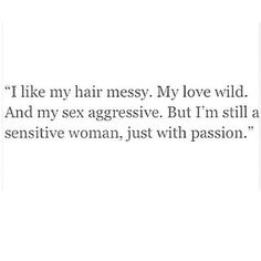 All things passion