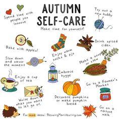 Self-Care Check-In im Oktober in the October self-care check-in! Autumn / fall / October self-care.