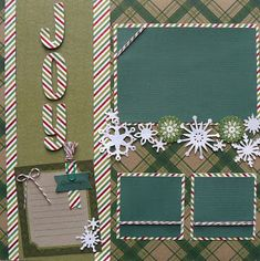 Happy Monday! It's Sukie here today and I have a holiday layout to share featuring Candy Cane Trendy Twine. The title was cut from the...