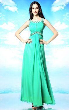 背中セクシー グリーン系ロングドレス - ロングドレス・パーティードレスはGN|演奏会や結婚式に大活躍!