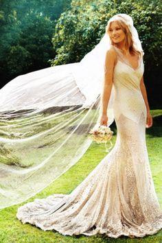Kate Moss vestido de novia