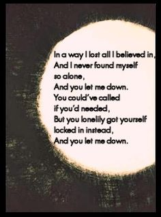 Lonelily- Damien Rice Oh god these lyrics are amazing.  Mmm.