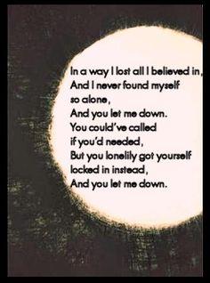 Lonelily- Damien Rice Oh god these lyrics are amazing.  Mmm.