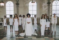 Galleria foto - Solange Knowles sposa in tuta Foto 2