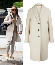 Pippa And James, Pippa Middleton Style, Harris Wharf London, Wool Coat, Duster Coat, Jackets, Outfits, Shopping, Fashion