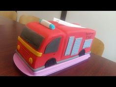 How do I bake a fire truck Truck Fire, Fire Trucks, Fireman Birthday, 3rd Birthday, Birthday Cakes, Maxis, Fire Engine Cake, Health Care Reform, Cakes For Boys