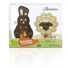 Easter bunny with scarf dark chocolate by cacao melbourne bramble lenny 150g thorntons easter chocolateeaster gift negle Choice Image