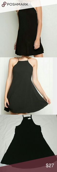 "Brandy Melville Abigail Dress Brandy Melville Abigail dress in black, never worn, tag are still attached  Measurements: pit to pit 16"", length 32"" Brandy Melville Dresses"