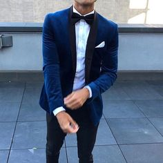 suits men beige Navy Blue Velvet Wedding Tuxedos for Groom Mens Suits Two Piece Black Shawl Lapel Slim Fit Jacket Pants Custom Made Blazer Blue Blazer Outfit Men, Blazer Outfits Men, Orange Blazer, Green Blazer, Long Blazer, Blue Velvet Suit, Blue Suit Men, Blue Velvet Blazer Mens, Mens Velvet Suit