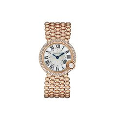 Cartier Ballon Blanc 18K Rose Gold & Diamond Watch