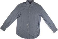 BRUNELLO CUCINELLI PINPOINT OXFORD SHIRT-SIZE 50/40 US/ MEDIUM-MADE IN ITALY #BRUNELLOCUCINELLI