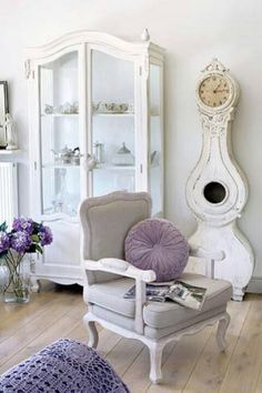 lavender rooms on Pinterest  Lavender Living Rooms, Purple Striped ...