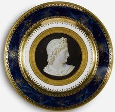 Sevres Portrait Plate Iconographique Grec