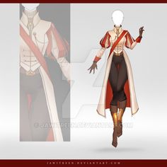 (CLOSED) Adoptable Outfit Auction 253 by JawitReen.deviantart.com on @DeviantArt