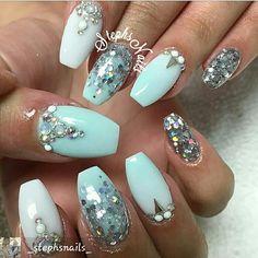 #prettynailart on #instagram #nailsofinstagram #acrylicnails #acrylicnailart #nails2inspire