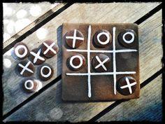 ceramic tic tac toe game by gezin kurtaran ceramics