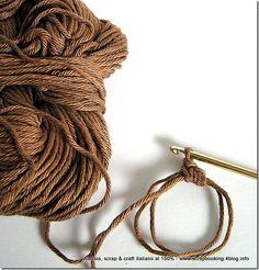 Crochet Magic Ring - Tutorial