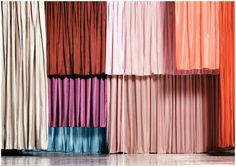 layered curtain via Thunder in our Hearts