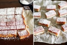 Pink Lemonade Bars by girlversusdough as adapted from smittenkitchen: Lemons & Raspberries! #Bars #Lemonade #Raspberry