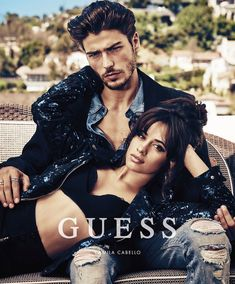 Alessandro Dellisola is Guess' latest leading man. The Italian model joins singer Camila Cabello for the brand's holiday 2017 campaign. Ideas Para Photoshoot, Photoshoot Inspiration, Couple Photography Poses, Fashion Photography, Guess Campaigns, Guess Ads, Couples Modeling, Posing Couples, Color Rubio