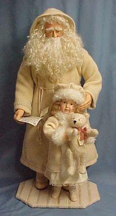 Beautiful Artist Santa......Photo via web
