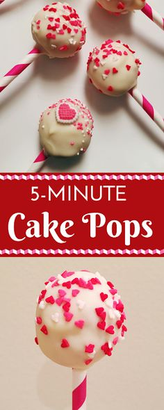 5-Minute Cake Pops: Create perfect and delicious cake pops without ever turning on your oven!