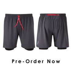 THEY ARE BACK. Our 2 in 1 Running shorts are back & include some great improvements #running #shorts #trailrunning