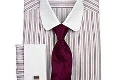Clubkragenhemd im Stil der 1920er Jahre www.vintagedancer ... House, Ideas, Fashion, Moda, Home, Fashion Styles, Fashion Illustrations, Thoughts, Homes