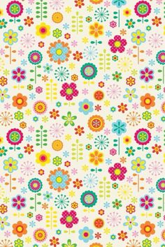 Pretty Flowers Pattern.