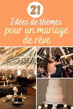 21 idées de thèmes pour un mariage de rêve Movie Posters, Theme Ideas, Quirky Wedding, Birthdays, Film Poster, Popcorn Posters, Film Posters
