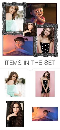 """Maia Mitchell as Boo (Monsters Inc)"" by heyimnanda ❤ liked on Polyvore featuring art"