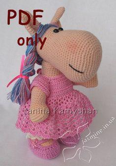 Bella+the+Horse+crocheted+amigurumi+PDF+pattern+by+jasminetoys