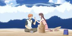 The Summer heatwave is here! Here's some of the hottest #anime of the summer! Anime Manga, Anime Art, Kyo And Tohru, Girls Anime, Manga Girl, Fruits Basket Anime, Drawn Art, Maid Sama, Anime Screenshots