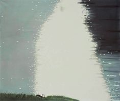"artmastered: "" Alex Katz, Lake Light, 1992, oil on canvas, 168 x 199 cm, unknown collection. Source """