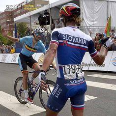 Peter Sagan Tom Boonen respect congrats Worldchampionships 2015 @bettiniphoto