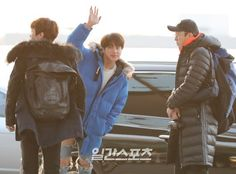BTS Jin at Incheon Airport Go To Sulawesi-Indonesia [161120]