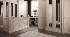 At Neville Johnson we design, handcraft and install bespoke fitted wardrobes and bedroom furniture. Our service is uniquely bespoke to any space and home. Fitted Wardrobes, Bedroom Inspiration, Bedroom Furniture, Bespoke, Fitness, Home, Design, Closets, Built In Cabinets