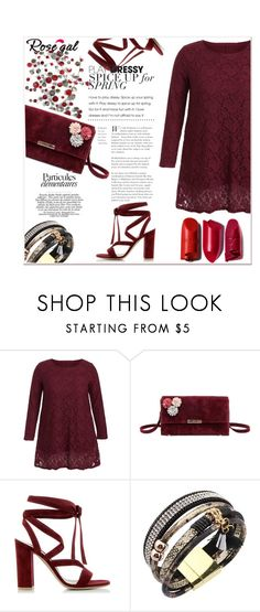 """""""Burgundy. 51"""" by nerma10 ❤ liked on Polyvore featuring Gianvito Rossi"""