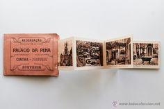Postales en acordeón- Recordação do Palacio da Pena. Cintra, Portugal años 20- El Desván de Bartleby C/.Niebla 37. Sevilla
