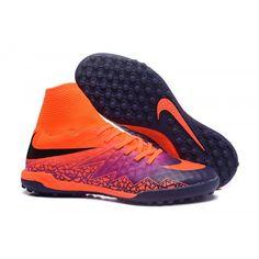 0d50ea4d Kopa Nike Hypervenom Phantom II TF FLOODLIGHTS PACK Fotbollsskor Orange Lila