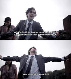 Robert Sheehan - Misfits. I absolutely adore this guy.