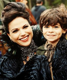 Once Upon A Time ~ Regina and Robin Hood's son. Awww he is so cute