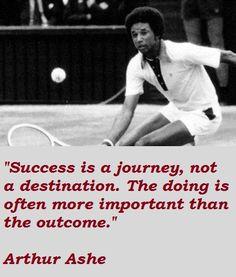 Arthur Ashe Quotes