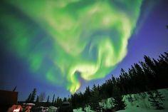 Aurora Borealis - Whitehorse, Yukon, Canada