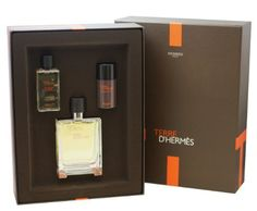 Terre D'Hermes Gift Set by Hermes. $106.99. Terre D' Hermes Cologne for Men 3 Pc. Gift Set ( Eau De Toilette Spray 3.3 Oz + All Over Shower Gel 1.35 Oz + Mini Deodorant 0.85 Oz ). Packaging for this product may vary from that shown in the image above. 3 Pc. Gift Set ( Eau De Toilette Spray 3.3 Oz + All Over Shower Gel 1.35 Oz + Mini Deodorant 0.85 Oz ) for Men. We offer many great sales and discounts making this fragrance cheaper than at department stores.. All our fragrances are...