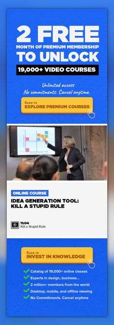 Idea Generation Tool: Kill a Stupid Rule Entrepreneurship, Business, Management, Creativity & Innovation, Leadership, Professional Growth, Collaboration, Business Skills #onlinecourses #learningathometips #onlineeducationfree   Sometimes, the rules just don't make sense—so why not change them? As consumers, industries, and the global economy evolve and change shape, why shouldn't the rules w...