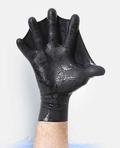 Increase the surface area of the hand by 70% (or just feel like the Man from Atlantis). $25