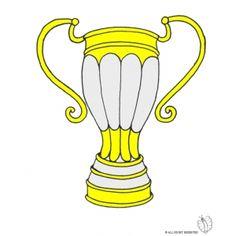 Disegno di Trofeo a colori