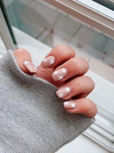 Star Nail Designs, Cute Acrylic Nail Designs, Simple Acrylic Nails, Best Acrylic Nails, Art Designs, Cute Simple Nail Designs, Cute Simple Nails, Square Acrylic Nails, Design Art