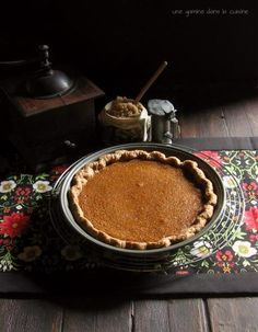 BUTTERSCOTCH PUMPKIN PIE includes recipeThe Very Instant That I Saw You